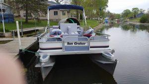 Pontoon Boat Rentals in Indiana